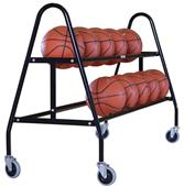 Porter Athletic 2 Tier Ball Cart