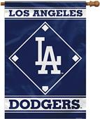 """MLB Los Angeles Dodgers 28"""" x 40"""" House Banner"""