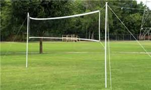 Bison Portable Volleyball Badminton Set - Playground ...