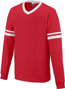 Augusta Sportswear Long Sleeve Stripe Jersey. Printing is available for this item.