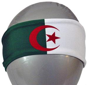 Svforza Algeria Country Flag Headbands