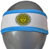 Svforza Argentina Country Flag Headbands