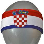 Svforza Croatia Country Flag Headbands