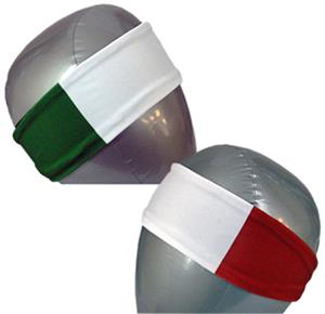 Svforza Italy Country Flag Headbands