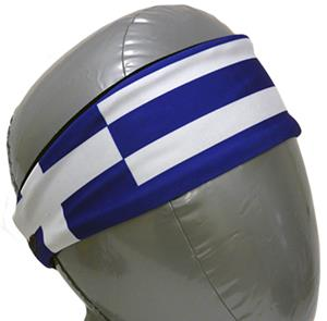 Svforza Greece Country Flag Headbands