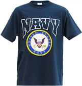 Rapid Dominance Navy Classic Military Tee