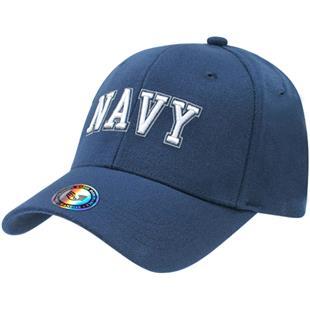New Rapid Dominance World War II Veteran Black Hat Cap Adjustable Dog Tag