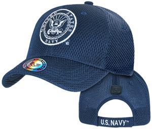 Rapid Dominance Air Mesh Navy Military Cap