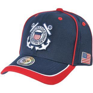 eb993f8948649 Rapid Dominance Piped Coast Guard Military Cap