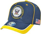 Rapid Dominance Piped Navy Military Cap