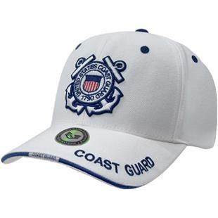 bb0726eae1681 Rapid Dominance White Coast Guard Military Cap