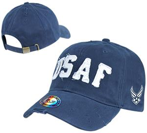 Vintage Cotton Twill Air Force Military Cap