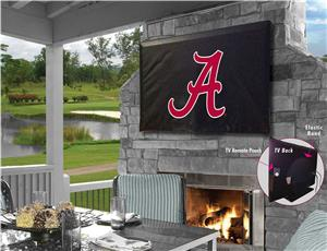Holland Univ of Alabama Script A Logo TV Cover. Free shipping.  Some exclusions apply.