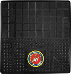 Fan Mats US Marines Heavy Duty Vinyl Cargo Mat