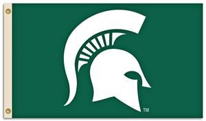 BSI NCAA Michigan State 3' x 5' Flag w/Grommets