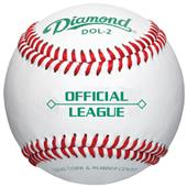 Diamond Official League Leather Baseballs DOL-2