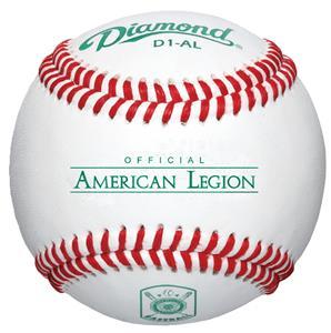Diamond D1-AL EMBLEM American Legion Baseballs (DZ)