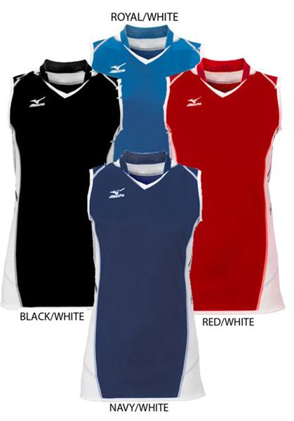 mizuno sleeveless jersey