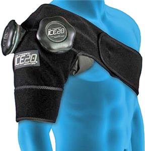 Ice20 Ice Therapy Double Shoulder Compression Wrap. Free shipping.  Some exclusions apply.