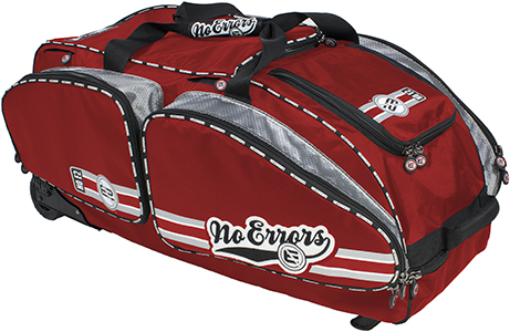 No Errors The No E2 Catchers Baseball Bag