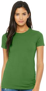 BellaCanvas Womens Favorite Slim Fit Tee 6004. Printing is available for this item.