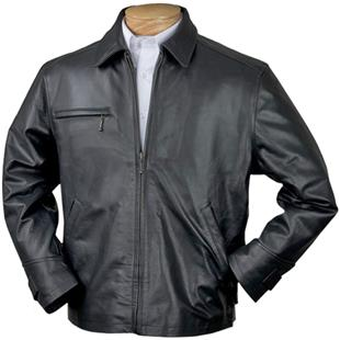 Burk's Bay Classic Italian Driving Leather Jacket