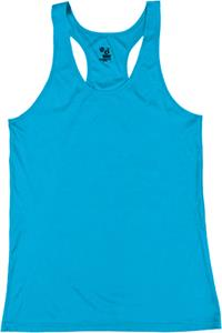Badger Sport Lady Girls Racerback Performance Tank. Printing is available for this item.