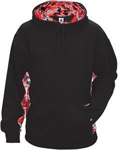 Badger Sport Adult/Youth Digital Camo Hoodie. Decorated in seven days or less.