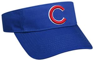 MLB Pre-Curved Chicago Cubs Visor - Baseball Equipment   Gear 55091d7e108