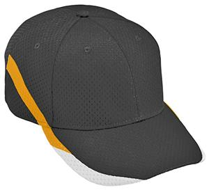 Augusta Adult/Youth Tri-Color Slider Cap. Embroidery is available on this item.