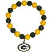 Silver Moon NFL Green Bay Packers Bead Bracelet