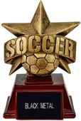 "Hasty Awards 6"" All Star Resin Soccer Trophy"