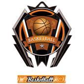 Hasty Stealth Basketball Varsity Medal M-5200