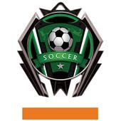 Hasty Stealth Soccer Varsity Medal M-5200
