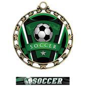 Hasty Super Star Medal Soccer Varsity Insert