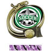 Hasty Action Medal All-Star Soccer Insert M-1201S
