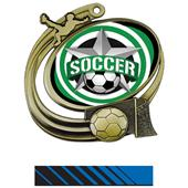 Hasty Action Medal All-Star Soccer Insert M-1201S