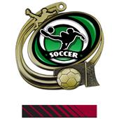 Hasty Soccer Action Spectrum Insert Medal M-1201S