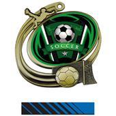 Hasty Action Medal Varsity Soccer Insert M-1201S