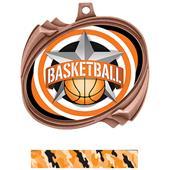 Hasty Basketball All-Star Insert Hurricane Medals