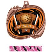 Hasty Basketball Varsity Insert Hurricane Medals