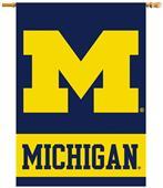 "COLLEGIATE Michigan 2-Sided 28"" x 40"" Banner"