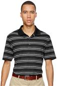 Adidas Golf Puremotion Textured Stripe Mens Polo