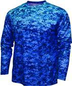 Baw Men/Youth Xtreme-Tek Digital Camo LS Shirt