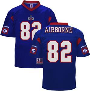 Battlefield Men 82nd Airborne Army Football Jersey - Closeout Sale - Fan  Gear 230b6cec6