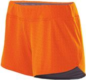 "Holloway Ladies Maze Mesh 3"" Boundary Shorts"