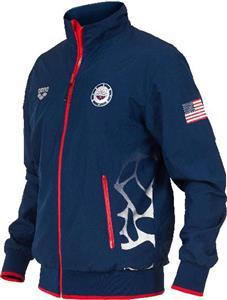 Arena Unisex Usa Swimming Full Zip Jacket Swimming Equipment And Gear