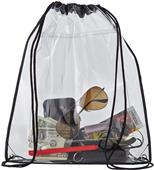 Holloway Carrier Heavy-Guage Clear Plastic Bag