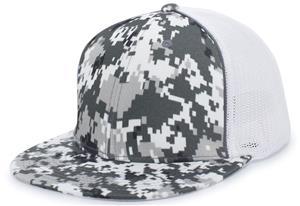 43de739a Pacific Headwear D-Series Digi Camo Trucker Caps - Soccer Equipment and Gear