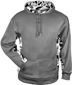 Badger Sport Adult Camo/Camo Blend Hoodie